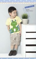 Children clothing suits stock wholesale baby boy brand new summer clothing sets stock high quality