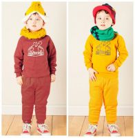 children's autumn and winter clothing sets kids hooded coating and trousers suits boy's fleece garment sets