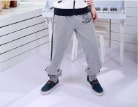 Boy's sportswear stock child autumn trousers cotton pants