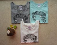 cheap Kids girl tank top stock baby summer clothing stock