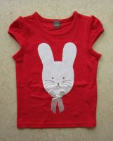 Girl cotton T-shirts kids tank top