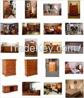 Solid Wood Home Furniture / China Factory / Customized Service