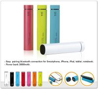 2014  Microphone Bluetooth Speaker/Power Bank 3800 mAH