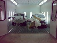 Sell  YK-300  CE economical baking spray paint car garage bus booth room