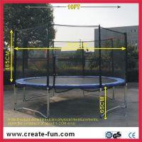 10ft round trampoline