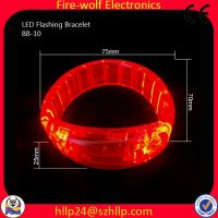 Led Flashing Glow bracelet led lighting wristband party favor Supply