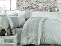Cotton Satin King Size Duvet Cover Set - Akel