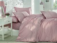 Cotton Satin King Size Duvet Cover Set - Isabel