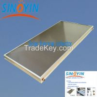 solar thermal collector of white frame