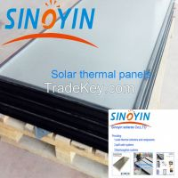 solar thermal collector of high efficiency absorber