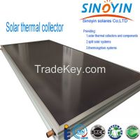 solar thermal collector of selective coating