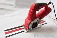 circular saw with a track