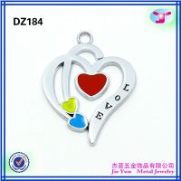 high quality decorative jewelry's blank charms for fashion women