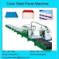 Color Steel Plate Pu Foam Production Line