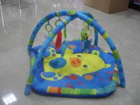 Baby play music game mat with light-D073