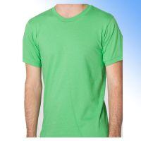 100% cotton blank men's t-shirt with round-neck