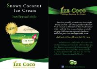 IZE COCONUT ICE CREAM