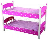 Doll furniture bed