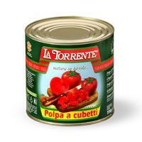 Chopped tomatoes in cans