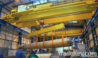 China single/double girder european overhead crane manufacturer