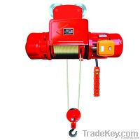0.5~32t wire rope electric hoist, low headroom electric hoist