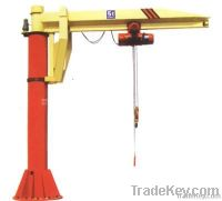 China 0.25~20 t fixed column mounted jib crane manufacturer