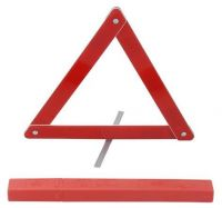 car safe warning triangle