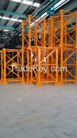 cheap price tower crane with self erecting