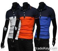Personality POLO shirts with short sleeves
