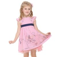 Nova Baby Girls Cotton Embroidery Dress