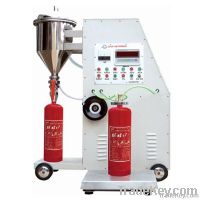 2014 new style & durable fire extinguisher filling machine with cheap