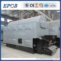 Double drum coal fired industrial boile