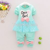 2015 children popular long shirts fashion design for spring and autumn
