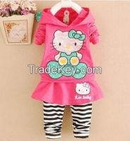 girls clothing sets for spring and autumn season