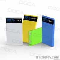 8000mah ultra thin polymer portable charger for mobile phone