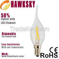 2015 Most Hot Selling Led Filament Lamp 400 Lumen Lamp Lighting