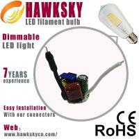 LED Dusk To Dawn Sensor Led Filament Lamp