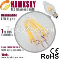 50000H Cost 1 USD Cool White Led Light Filament