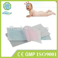 Kangdi oem factory of reduce fever cooling gel patch.