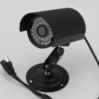 Waterproof Indoor Outdoor Black Bullet Security CCTV Camera