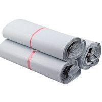 White Polythene mailing bags