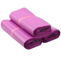 Purple Polythene Mailing Bags