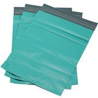 Green Plastic Mailing Bags
