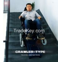 High technology electric stair climbing wheelchair MKX-LY-03A