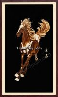 Chinese running horse famous horse paintings