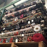 Stock Fabric Fancy Woolens and Tweeds