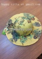 VG-Wl001Fashion Linen lady's hat