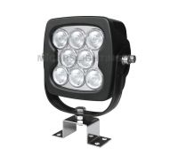 High power 6720lm 80w 6 inch square LED work light