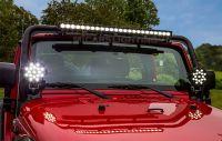 Super bright 43 inch 260w 18500lm single row LED light bar