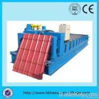 CE-ISO glazed tile roll forming machine
